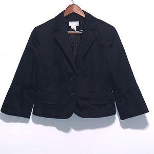 Worthington petite stretch black blazer size 12p